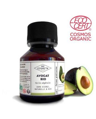 Huile d'Avocat BIO 50 ml - MyCosmetik